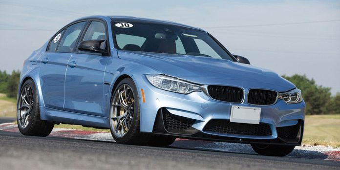 BMW M3 on a Track