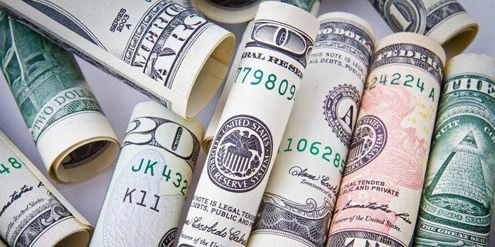 Cash Money Rolled Up